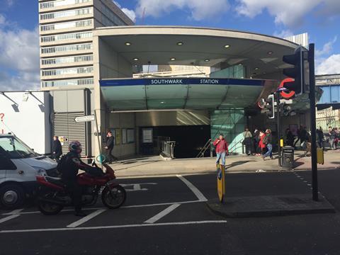Southwark tube station