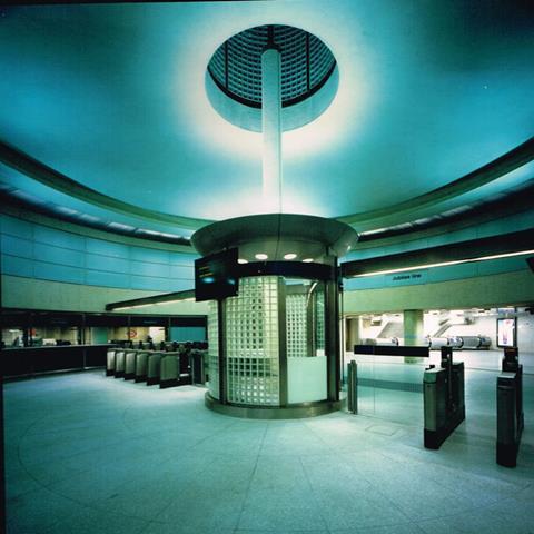 MJP's Southwark Tube station - ticket hall