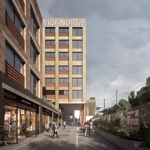 New homes on LLDC sites next to Hackney Wick station