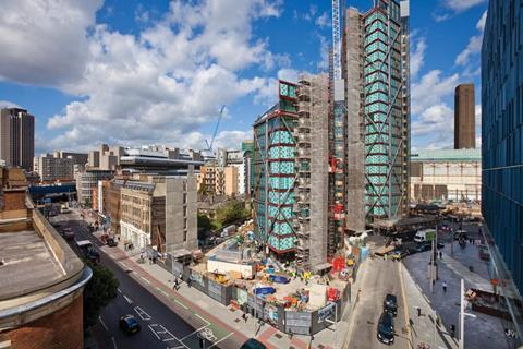 Neo Bankside by Rogers Stirk Harbour and Partners