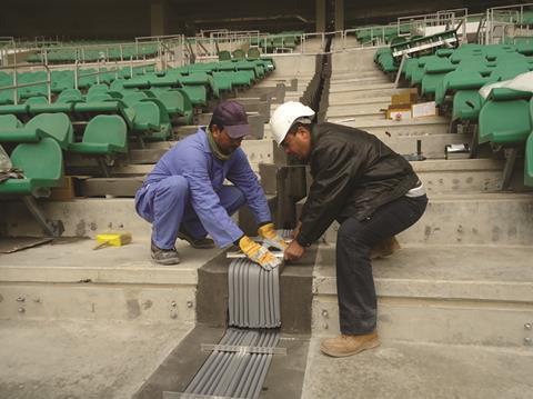 5. Basra International Stadium - Emseal SJS Joint Installation