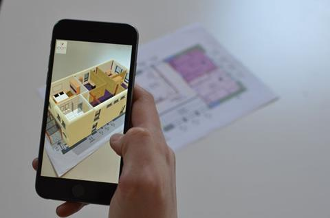 ELK's LOOFT homes are prefabricated with customisable interiors. Using Augment, customers can view their chosen configurations in augmented reality using their smartphones or tablets.