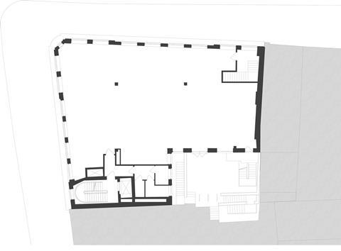 Consented Covent Garden Tube scheme by Gort Scott - Typical floorplan