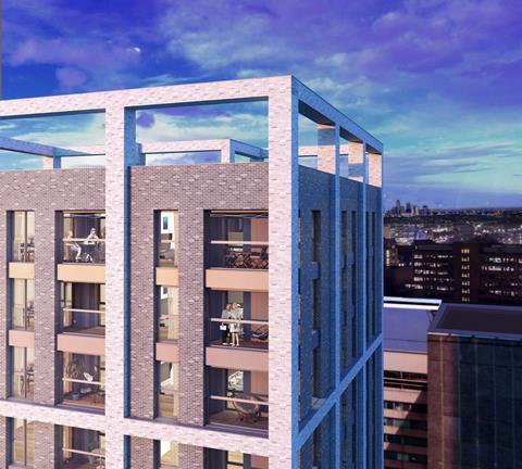 BPTW Partnership's 26-storey Cambridge House proposals