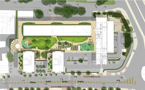 Seifert Tolworth Tower_3DReid masterplan_2021_plan_180318_N28 copyright_3DReid