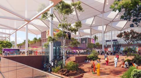Grimshaw_Delhi Noida Int Airport_forecourt_press3