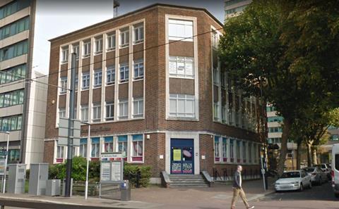 The existing Cambridge House in Wellesley Road, Croydon