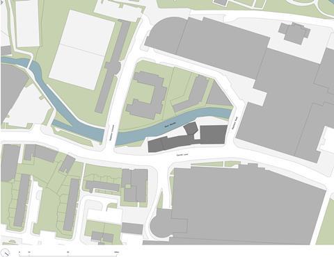Sergison Bates Wandle tower_278 location plan