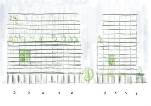 Morris and Co_HUF4_Elevation Concept Sketch