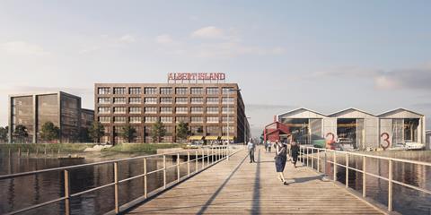 Haworth Tompkins' Albert Island proposals
