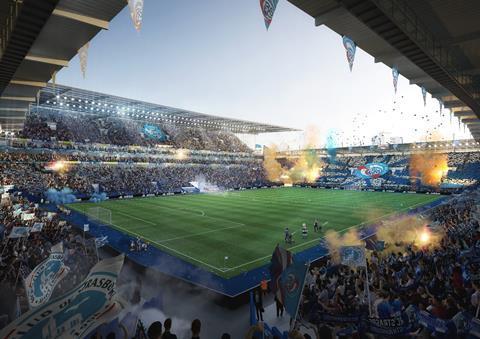 ©Populous & Rey de Crecy_Stade de la Mineau_New South Stand (1)