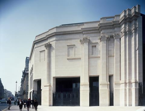National Gallery Sainsbury Wing exterior