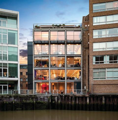 22 Shad Thames by Hopkins existing