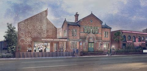 Artists' impression of the Manchester Jewish Museum's £6m upgrade, overseen by Citizens Design Bureau