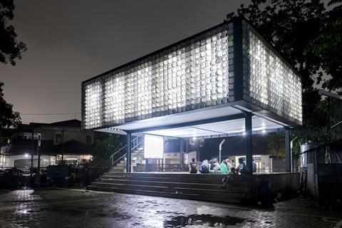 Designs of the Year shortlist: Microlibrary at Taman Bima by Shau Indonesia
