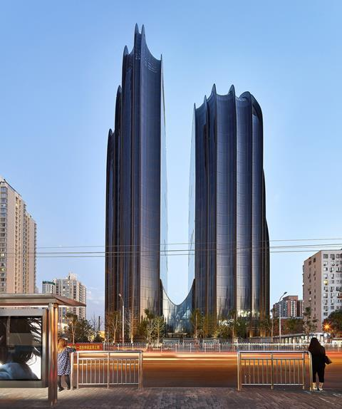 Designs of the Year shortlist: Mad Architects' Chaoyang Park Plaza
