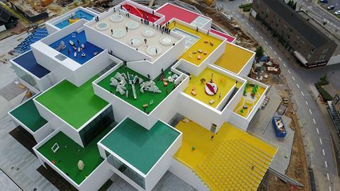 Lego House by BIG