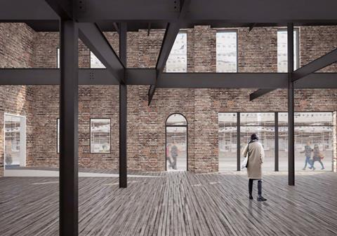 How the new Fruitmarket Warehouse facilities could look