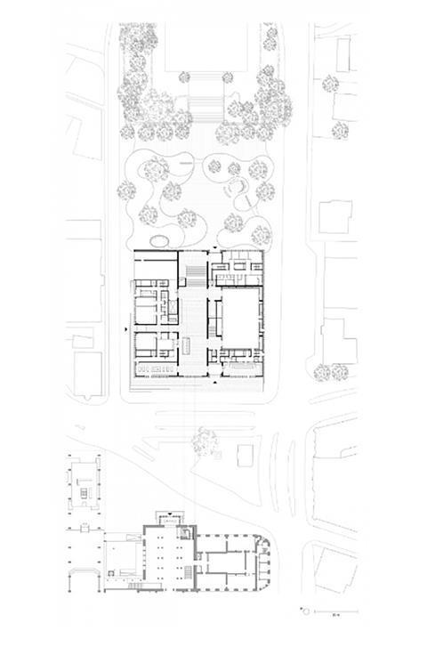 GF Plan - David Chipperfield Architects – Kunsthaus Zürich