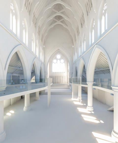 Shoreditch church 1