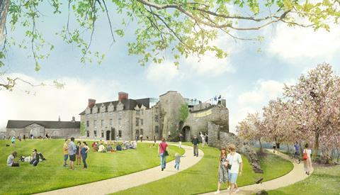 Rick Mather Architects - example concept image of Hay Castle