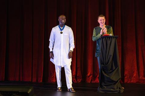 David Adjaye receives the RIBA Royal Gold Medal 3