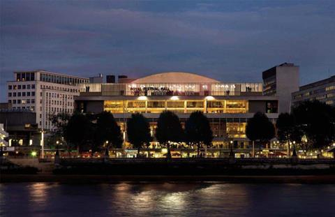 Tibbatts Abel and Southbank Centre proposal for Pergola on the Royal Festival Hall