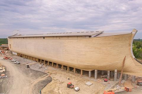The Ark Encounter theme park in Williamstown, Kentucky, features Accoya cladding