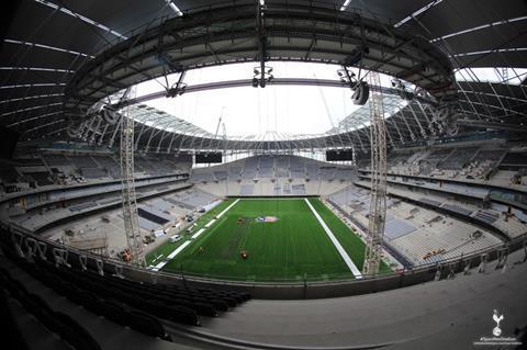 Spurs stadium 19 June 2018