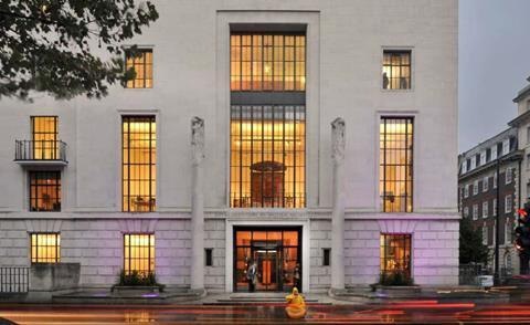 RIBA's 66 Portland Place headquarters