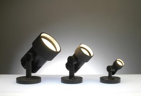 Radiant LED spotlights come in three sizes.